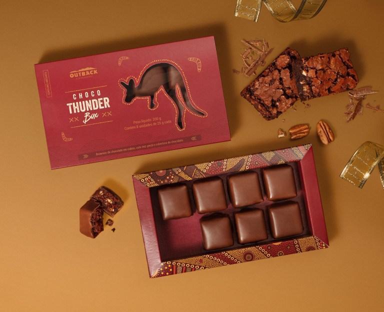 Outback cria Choco Thunder Box para o Natal