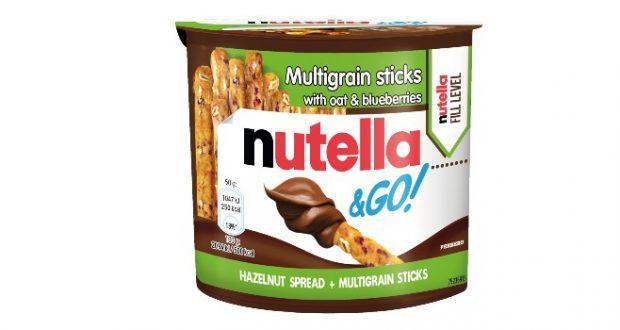 Nutella adiciona biscoito multigrãos à linha Nutella & Go
