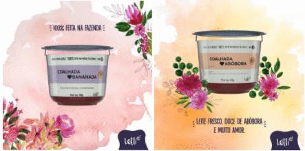 Letti A2 lança dois sabores inusitados de coalhada integral