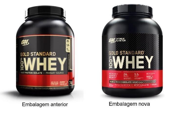 Whey da Optimum Nutrition ganha nova embalagem