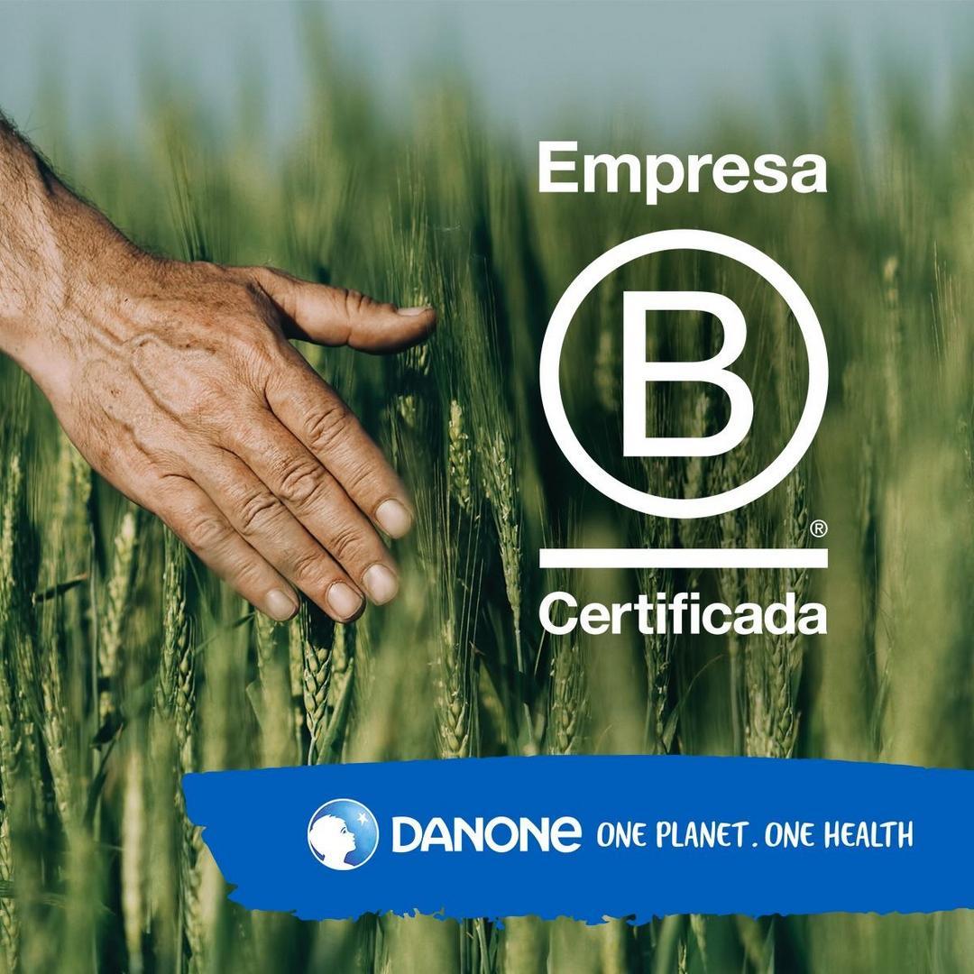 Danone se torna a 1ª grande indústria alimentícia no Brasil com certificado B