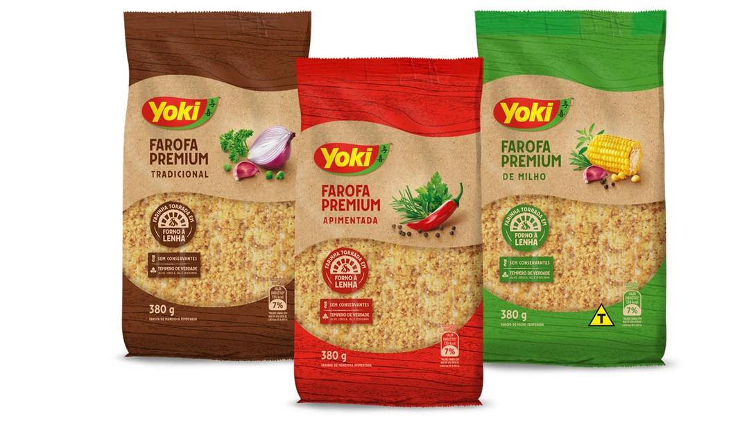 Yoki lança linhas de farofa premium