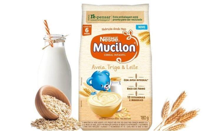 Nestlé lança Mucilon com novo sabor e embalagem mais sustentável