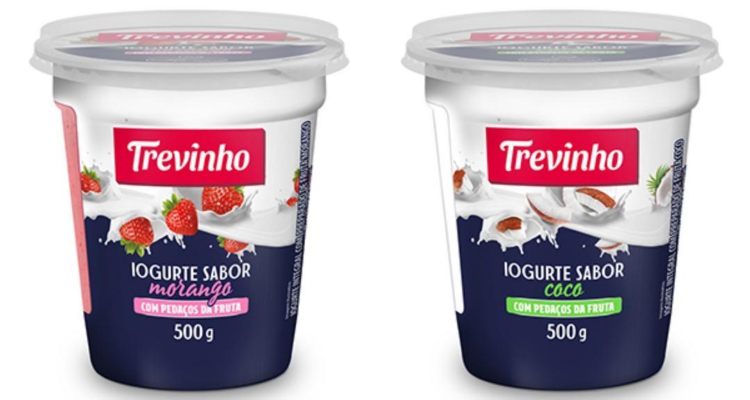 Trevinho lança linha de iogurtes com pedaços de fruta