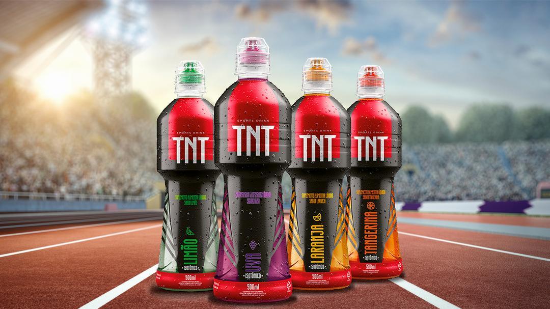 TNT Energy Drink lança sua primeira linha de isotônicos