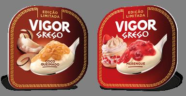 Vigor Grego amplia portfólio com dois sabores em edição limitada