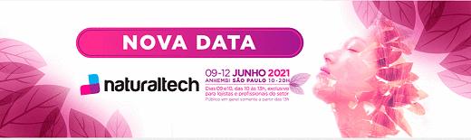 NaturalTech,Bio Brazil Fair | Biofach America Latina são adiadas para 2021