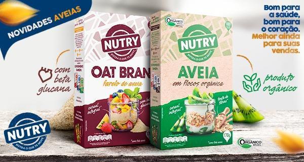 Nutry lança novidades em sua linha de produtos com aveia