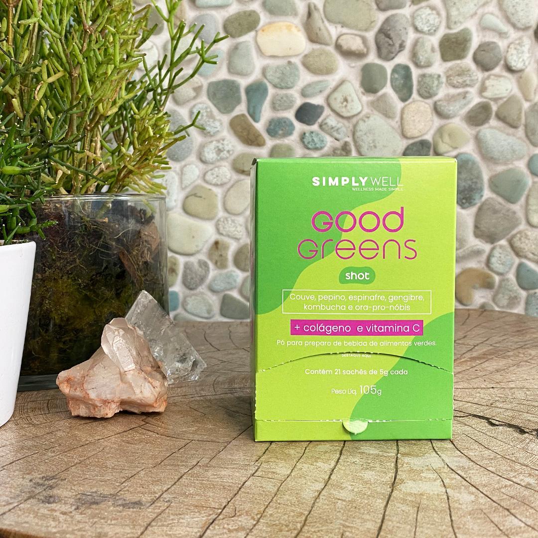 Good Greens: o novo suco verde em shot