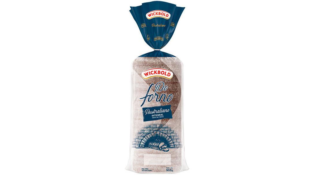 Novo pão integral Australiano Wickbold