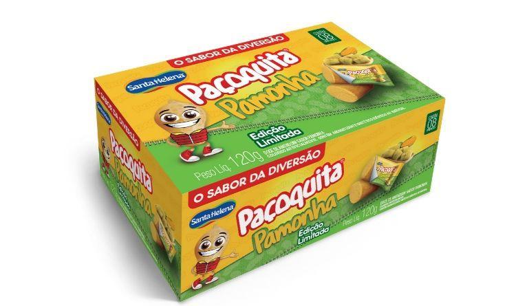 Santa Helena traz de volta ao mercado a Paçoquita sabor Pamonha