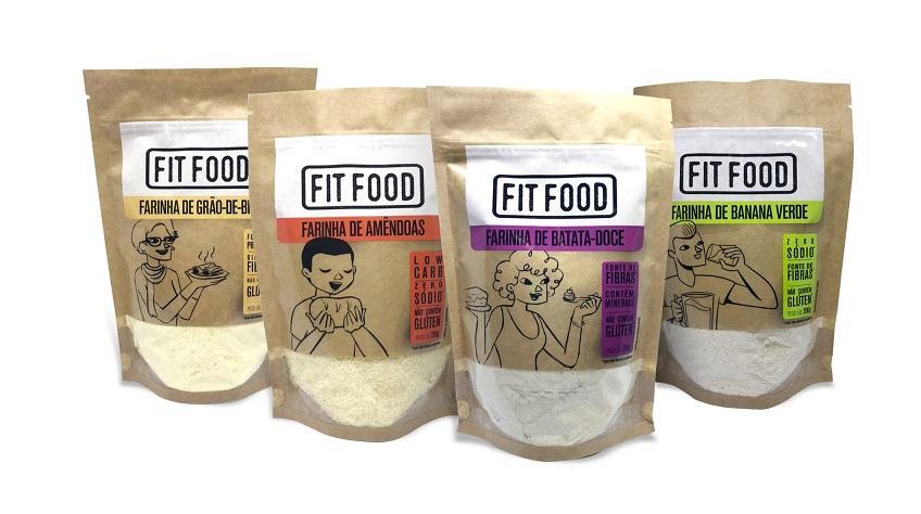 Farinhas funcionais da Fit Food chegam ao mercado
