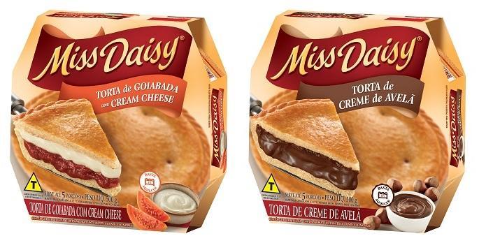 Sadia lança novos sabores da linha de sobremesas Miss Daisy