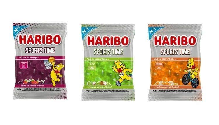 Haribo lança Sports Time com sabores inéditos