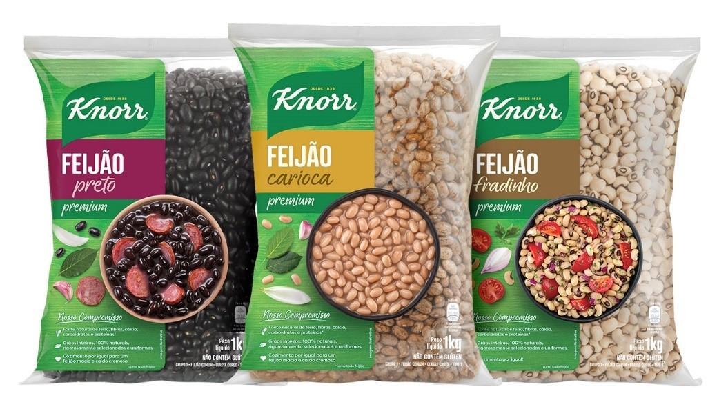 KNORR lança linha de feijões Premium
