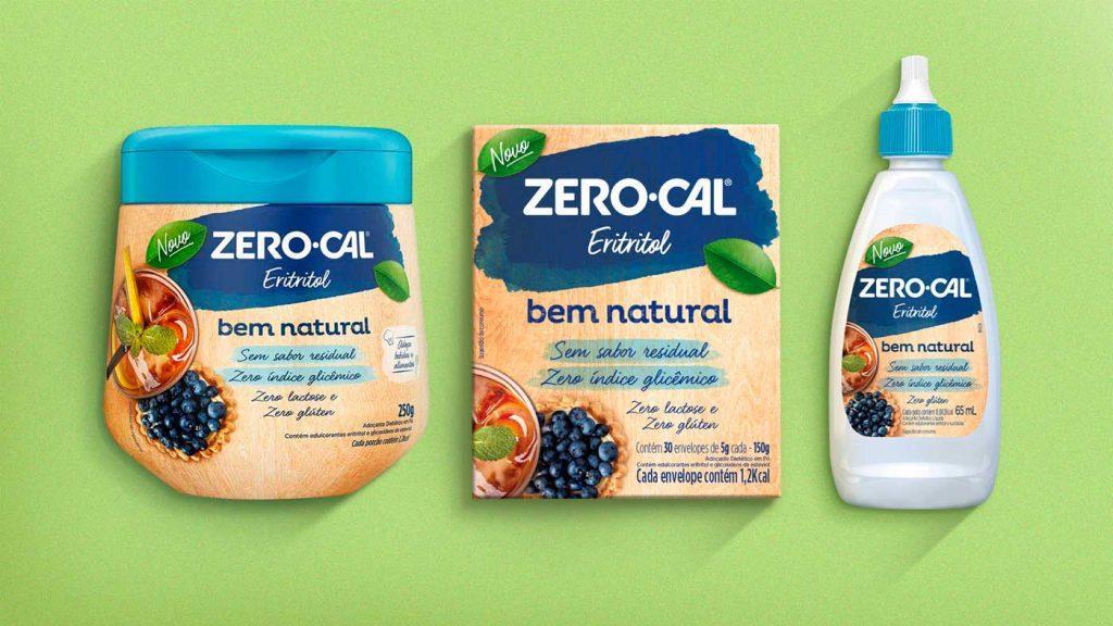 Zero-Cal inova com linha Bem Natural