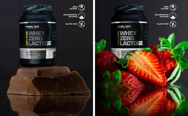 Probiótica lança 100% Pure Whey Zero Lactose