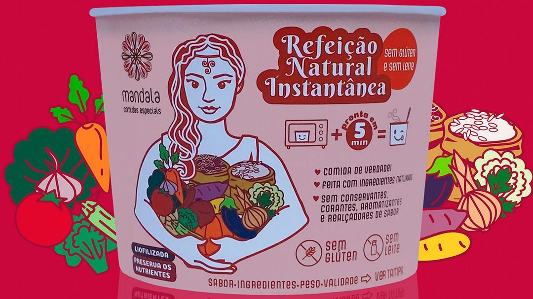 Mandala lança linha de Refeições Naturais Instantâneas