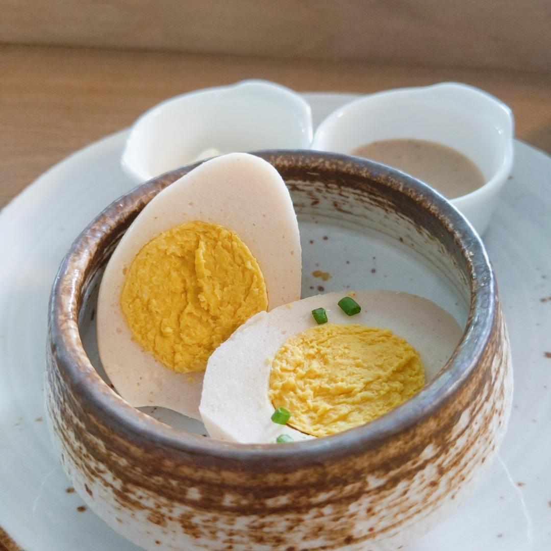 O primeiro substituto de  origem vegetal do ovo cozido