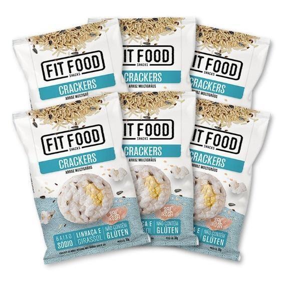 Marca Fit Food amplia o portfólio de crackers de arroz