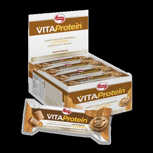 Vitafor lança novas barras proteicas