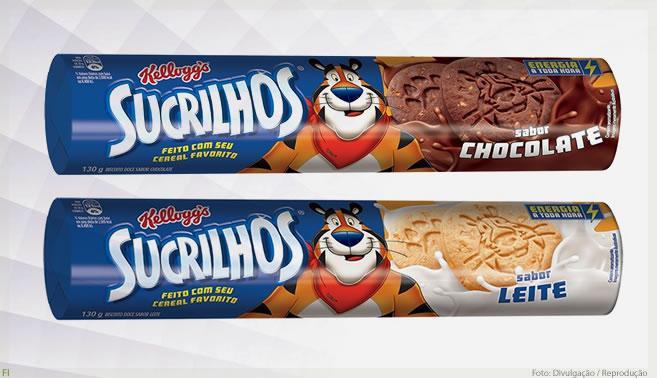 Kellogg's amplia seu portfólio com o lançamento do Biscoito Sucrilhos