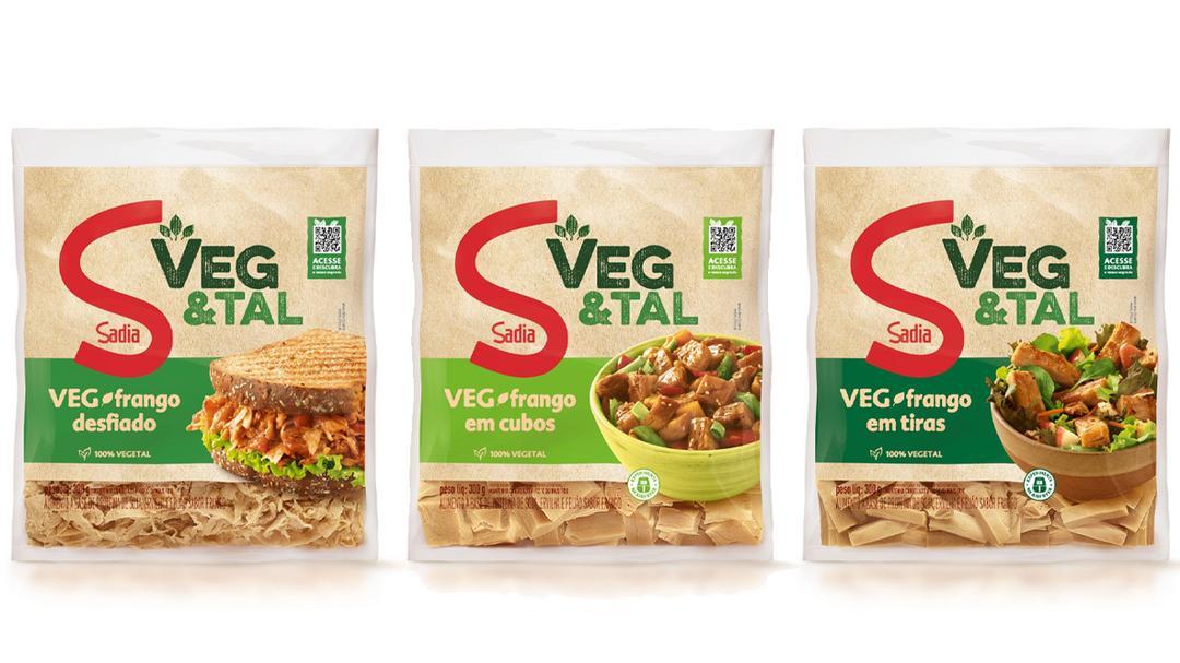 Sadia lança 3 produtos na linha Veg&Tal