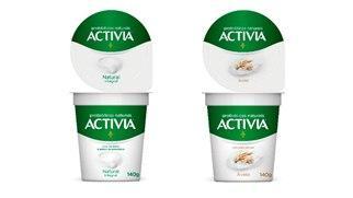 Nova linha de iogurtes com probióticos da Activia