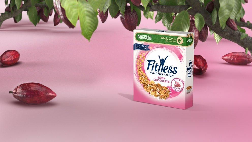 INTERNACIONAL: Nestlé lança cereal  FITNESS® Ruby Chocolate