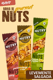 Nutry lança barra de Nuts Gourmet
