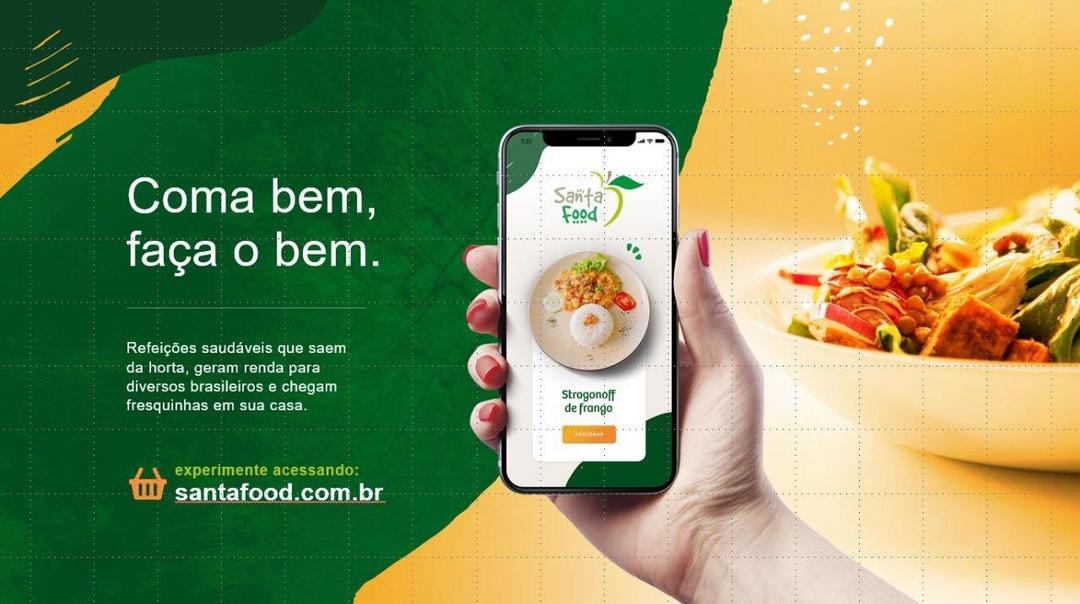 Santa Food faz lançamento do 1º marketplace da cadeia de orgânicos