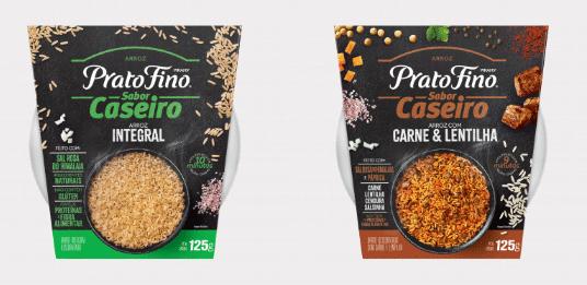 Marca Prato Fino inova com categoria de arroz ''sabor caseiro''