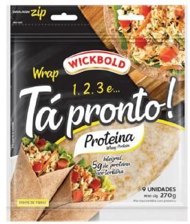 Wickbold lança wrap com whey protein