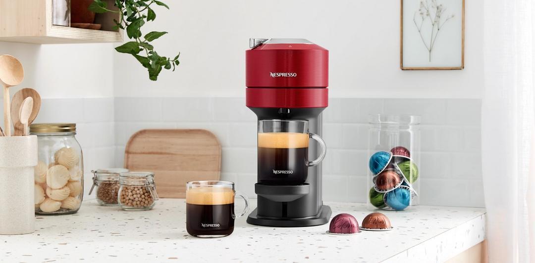 Nova cafeteira inteligente Nespresso Vertuo