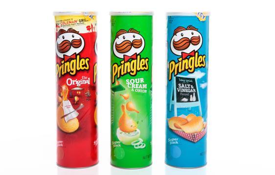 Kellogg cresce no Brasil com produção local de Pringles