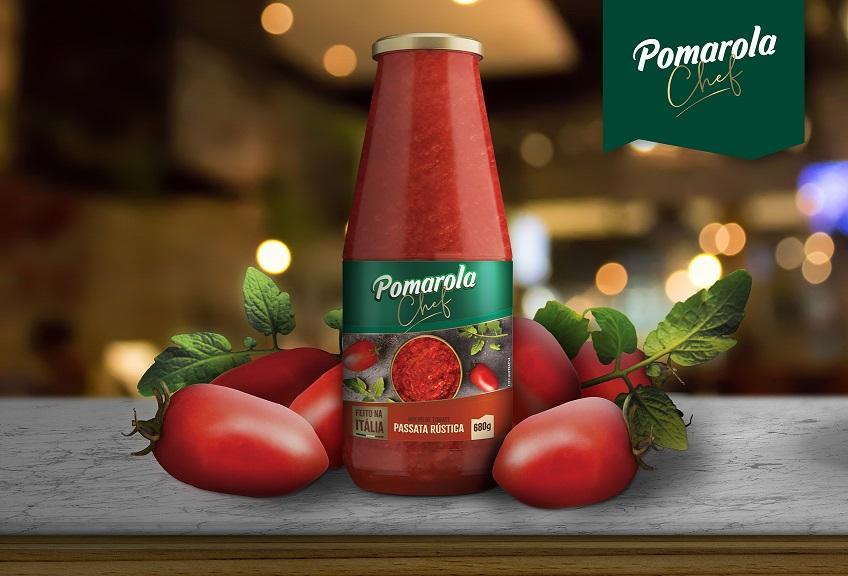 Pomarola Chef ganha versão passata rústica