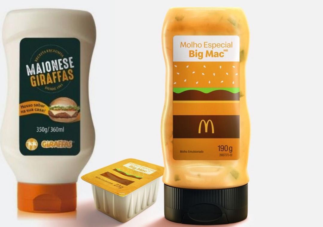 Giraffas e Mcdonald's entram com produtos no varejo