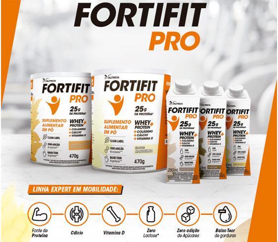 A nova linha Fortifit PRO, da Danone Nutrícia chega ao e-commerce e às principais farmácias