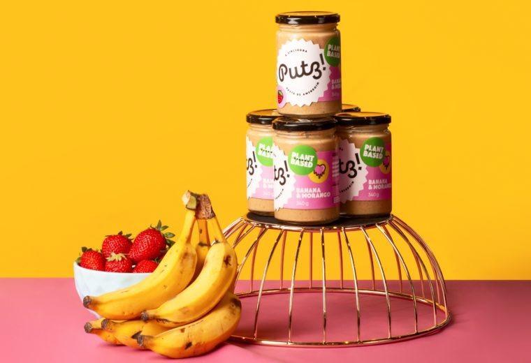 Putz! lança novo sabor em sua linha de pasta de amendoim plant based