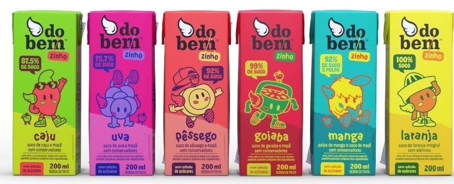 Marca Do Bem lança caixinhas de suco individuais infantil