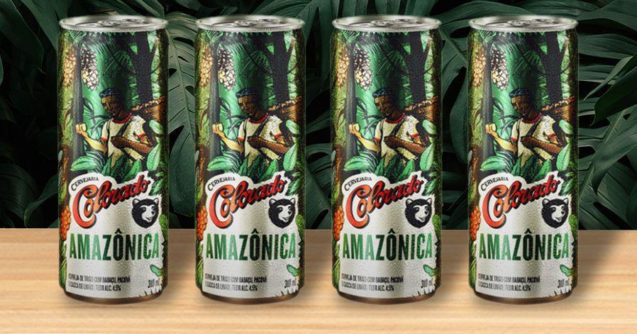 Nova cerveja Colorado altera o preço de acordo com a conservação da Amazônia