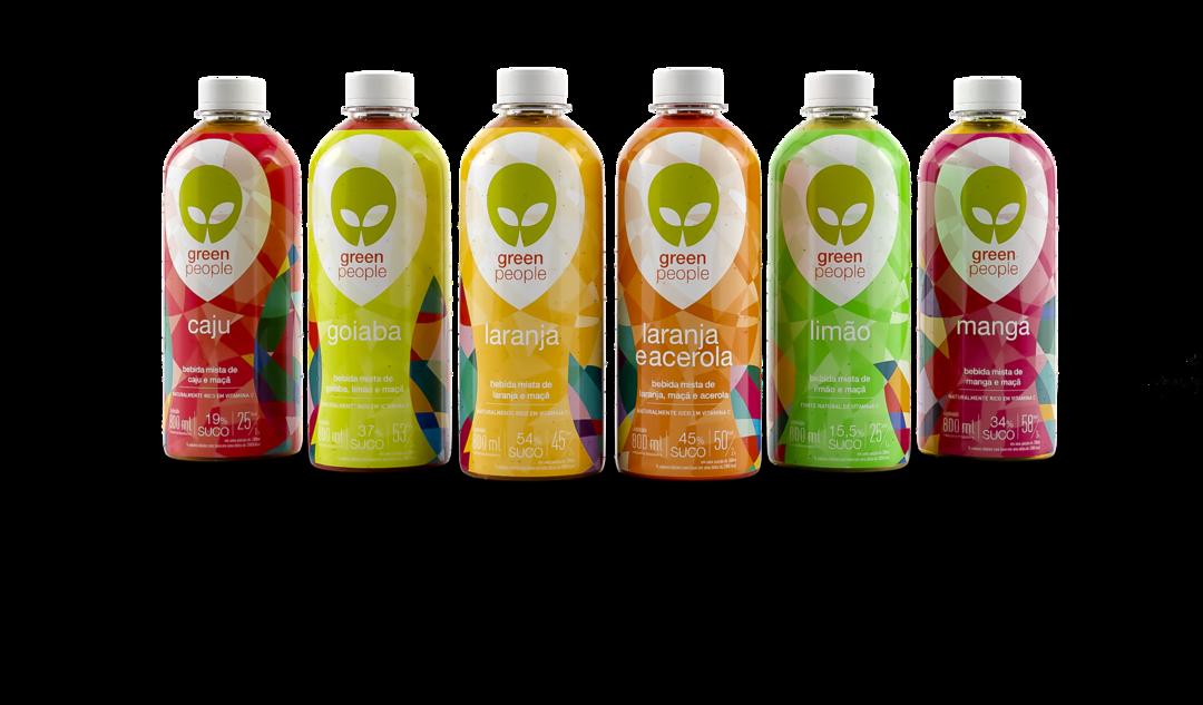 Greenpeople lança novos sucos com frutas brasileiras como protagonistas