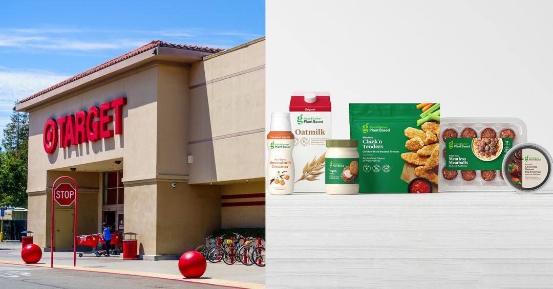 Target anuncia linha própria chamada Good & Gather Plant-Based