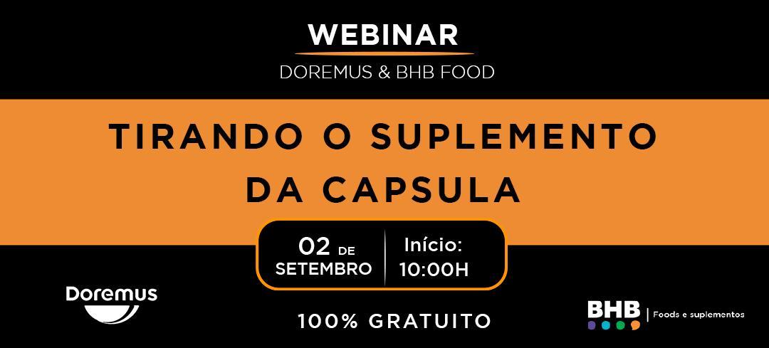 WEBINAR Doremus & BHB FOOD 100% Gratuito