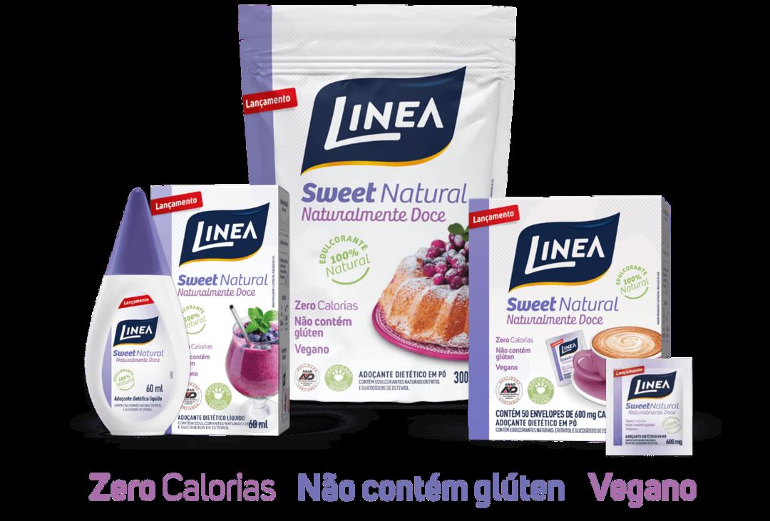 Linea Alimentos lança linha Sweet Natural