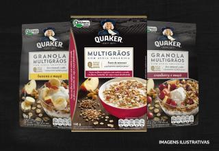 Quaker expande portfólio com lançamento da linha Multigrãos
