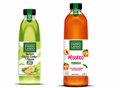 Campo Largo amplia portfólio de bebidas saudáveis com dois lançamentos