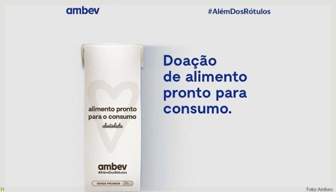 Ambev produz alimentos à base de malte para ONGs