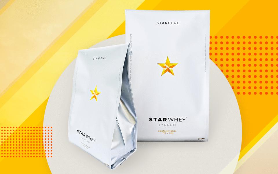 Stargene apresenta Whey Protein 100% isolado da Dinamarca