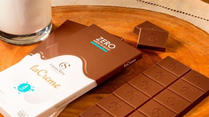 Cacau Show lança chocolate Zero Açúcar
